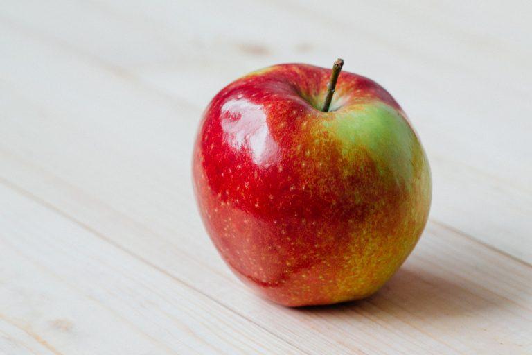 Jeden Tag ein Apfel