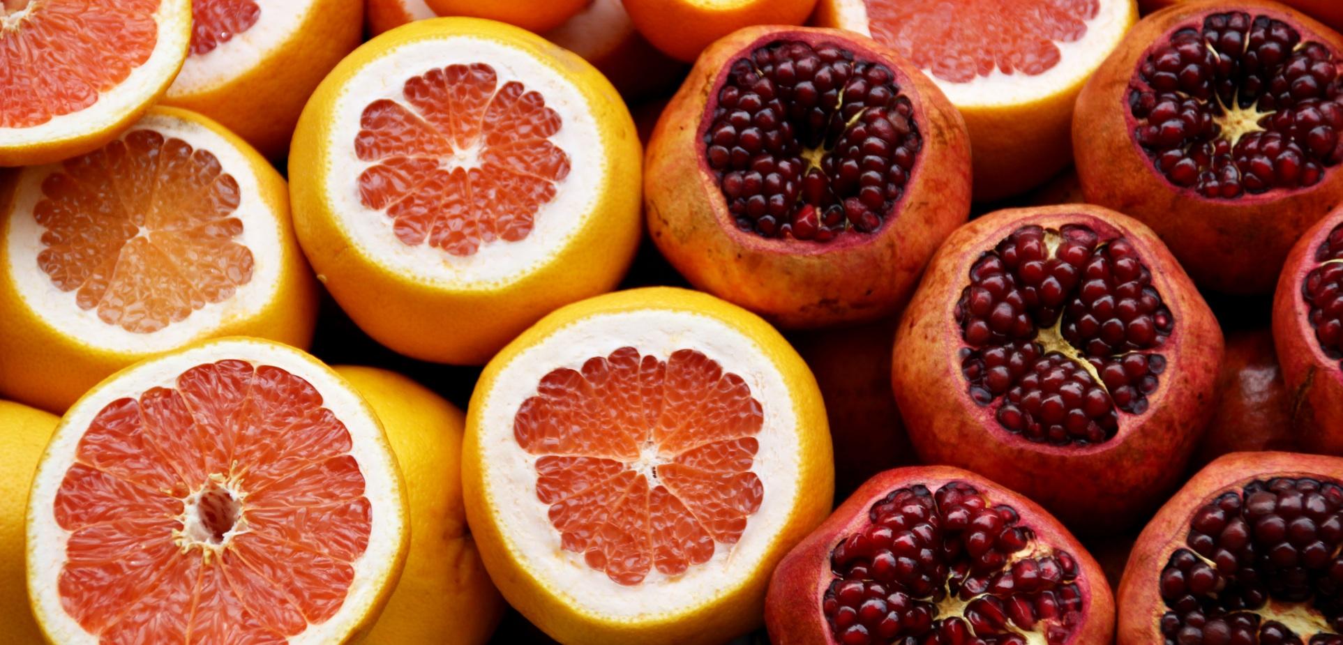 Granatapfel der Gesundheitsbooster