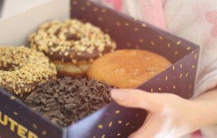 Donuts in einer Box