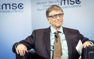 Bill Gates at MSC 2017 | Kuhlmann /MSC, CC BY 3.0 DE